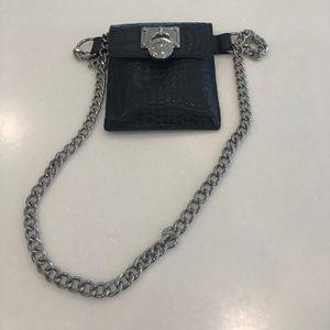 Waist chain belt pouch